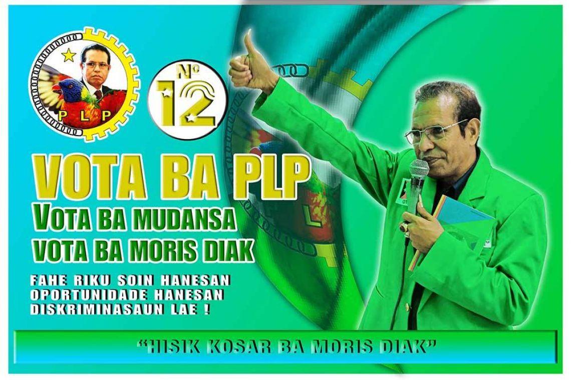 Kampaña PLP iha Natarbora, Manatuto